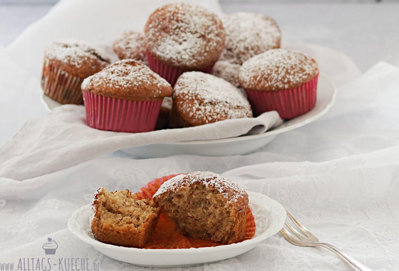 Rezept Bananen Muffins Alltagsküche