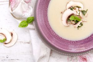 Rezept Championcreme Suppe Missfancy Foodblog