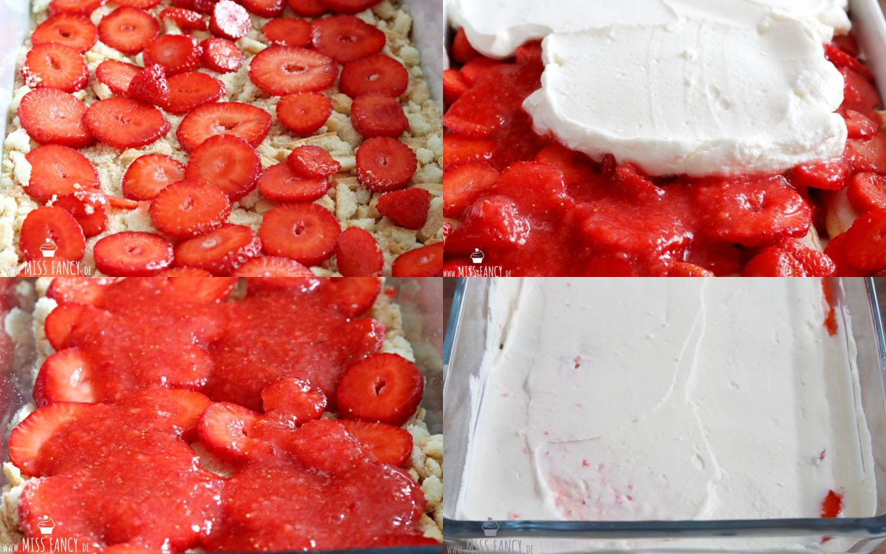 Erdbeer-Tiramisu Sommerdessert