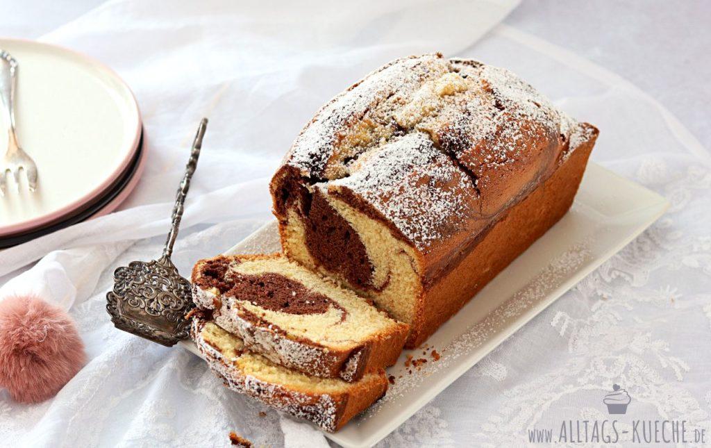 Marmorkuchen-Rezept
