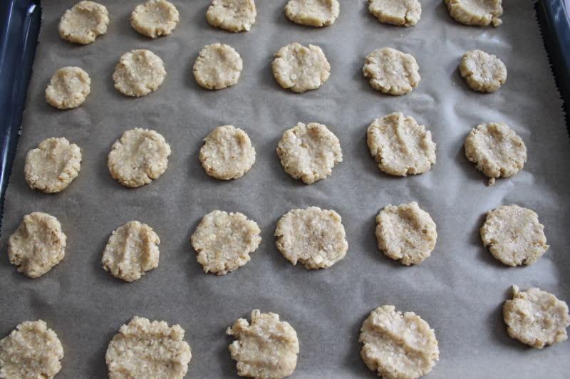 glutenfreie Hafer Cookies