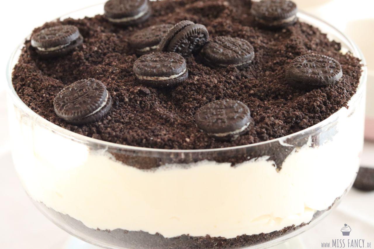 Leckerer Dirt Cake Dessert