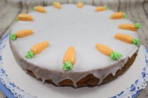 Karotten-Nuss-Kuchen diesmal glutenfrei aber besonders schmackhaft