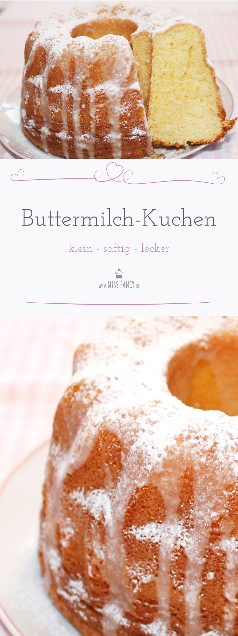 Kleiner Buttermilchkuchen