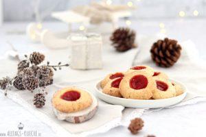 Engelsaugen Weihnachtsplätzchen