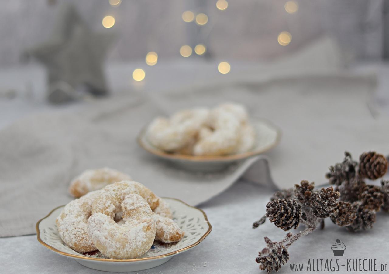 Weihnachtsgebäck Vanillekipferl