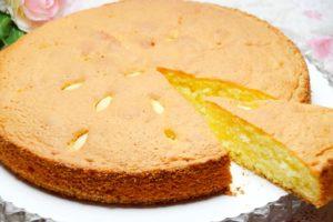 schneller Mandelkuchen mit wenigen Zutaten
