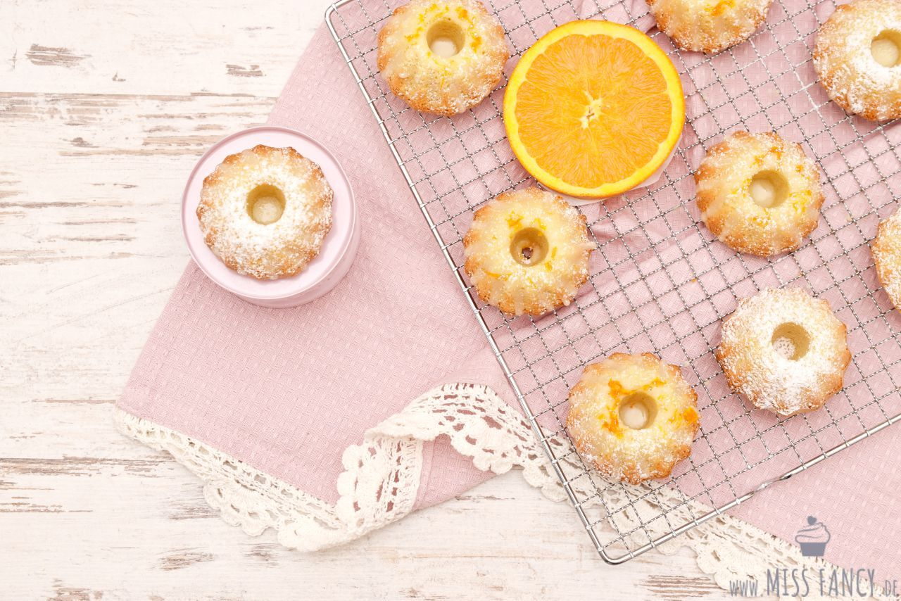 Mini Orangen Gugelhupf mit Grand Marnier