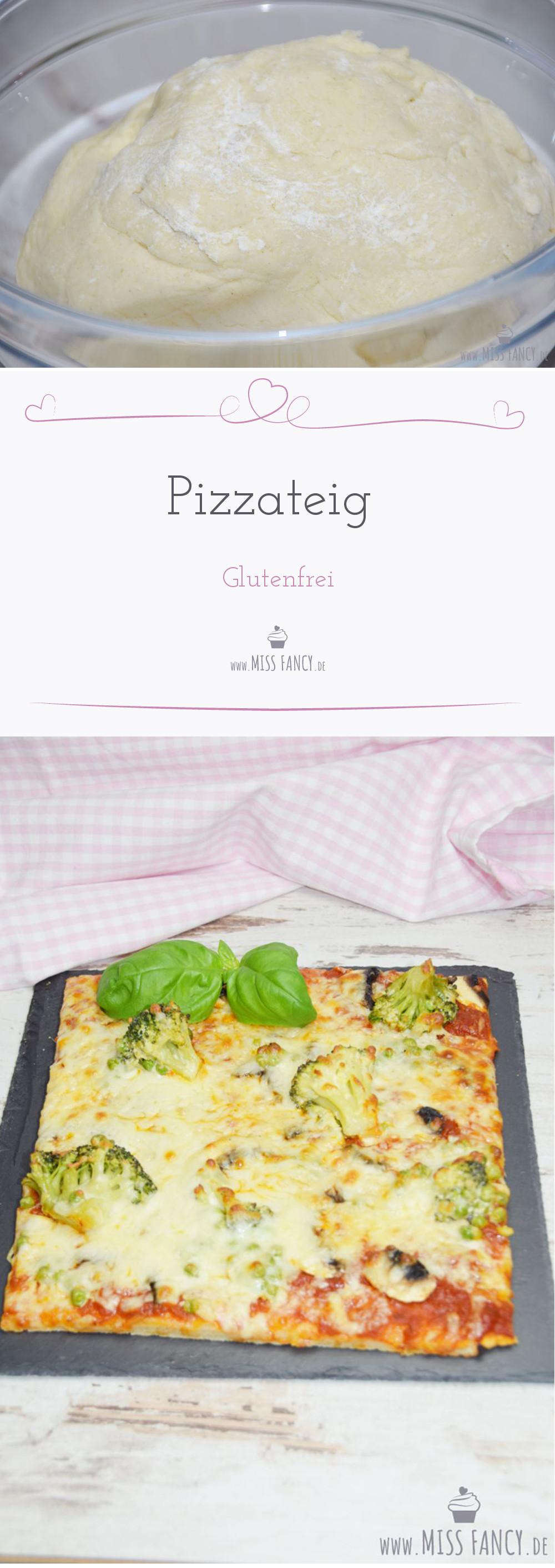 Rezept von Pizzateig ohne Gluten und Hefe