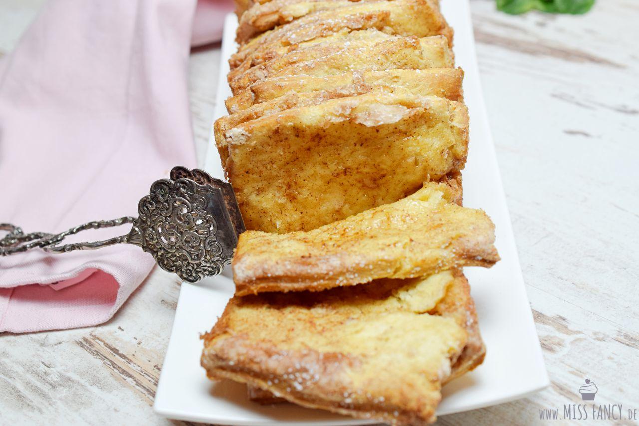 Eine süße Köstlichkeit dieses Zupfbrot verfeinert mit Zimt. Dieses Rezept ist leicht nachzumachen und schmeckt unsagbar lecker.
