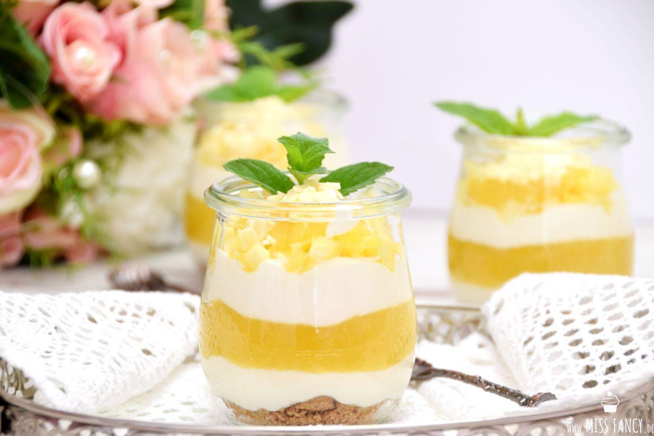 Mango Schichtdessert im Glas