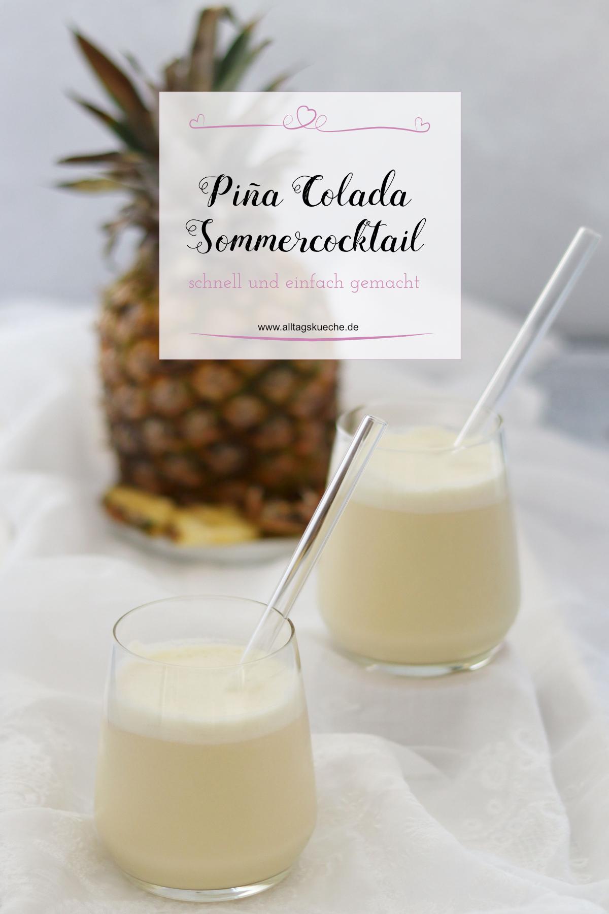 Super leckerer Piña Colada für den Sommer