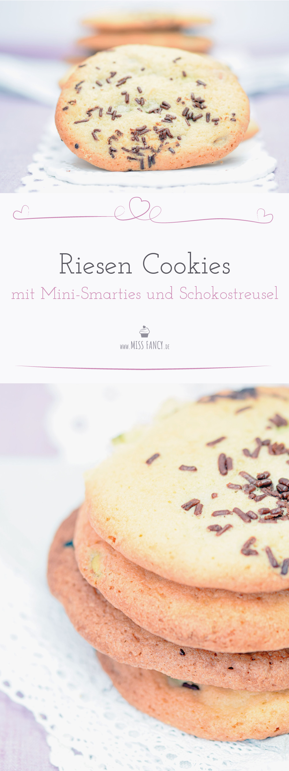 Rezept Cookies Mini Smarties Missfancy Foodblog