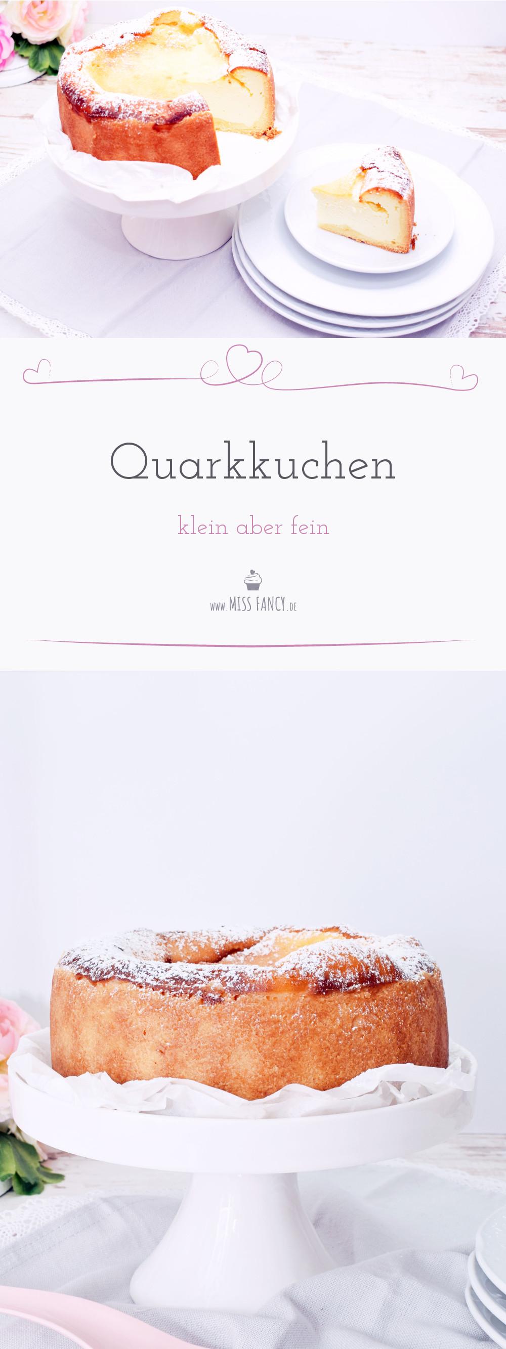 Rezept Quakkuchen-Käsekuchen-Mürbeteig