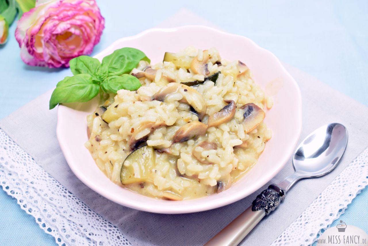Rezept Risotto Zucchini Champignons