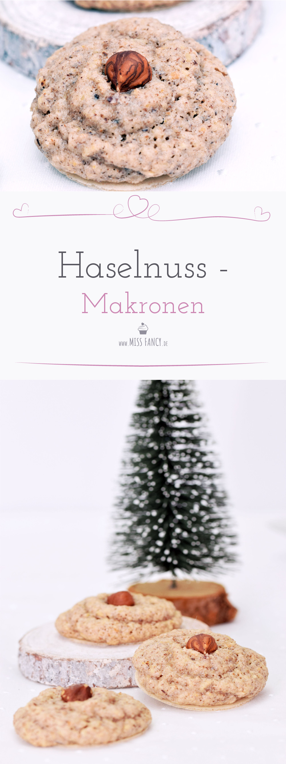 Rezept Haselnuss Makronen Weihnachtsplätzchen