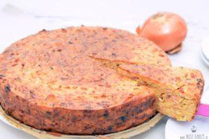 Rezept Zwiebelkuchen ohne Boden