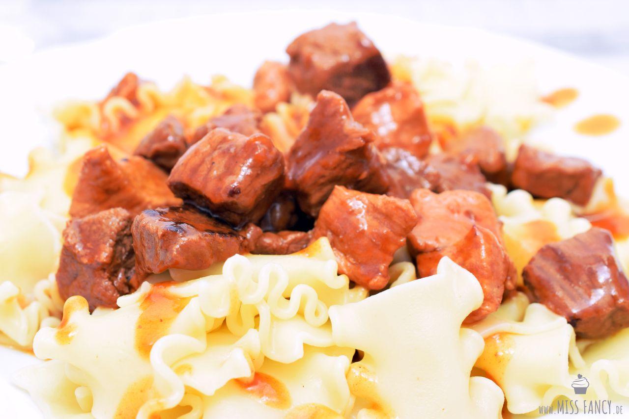 Rezept einfaches Gulasch kochen