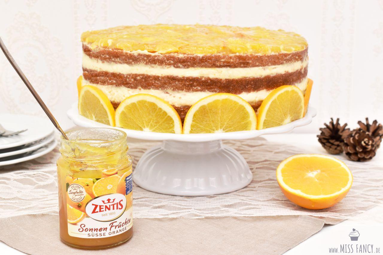 Rezept leckere Orangentorte