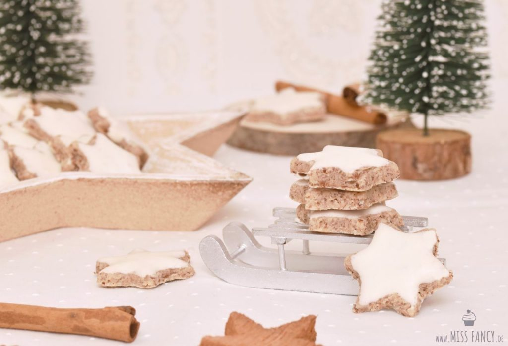 Rezept leckere Zimtsterne zu Weihnachten