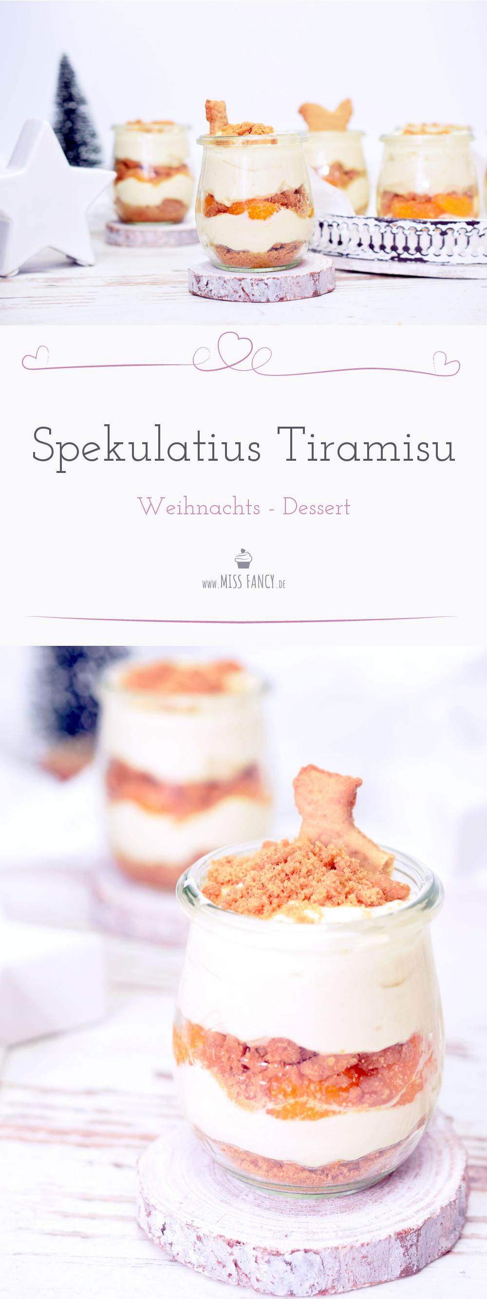 Rezept leckeres Spekulatius Tiramisu