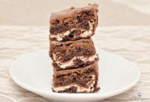 Rezept Cheesecake Brownies