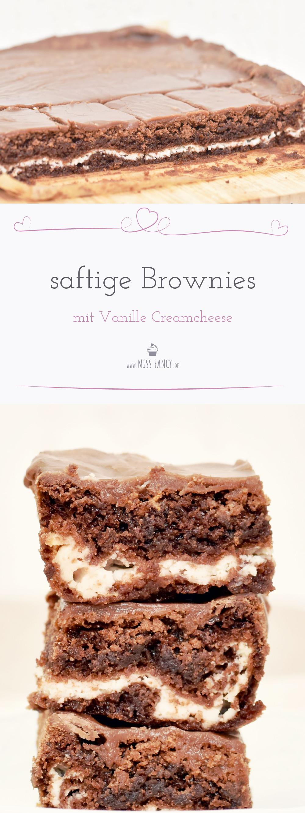 Rezept Creamcheese Brownies mit Vanille