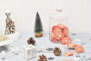 Rezept Nikolaus Cookies Swirl Rot-Weiß