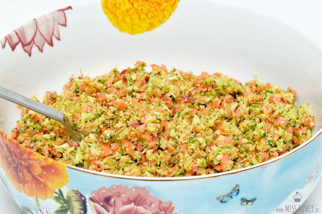 Rezept Rohkost Salat gesund und schnell