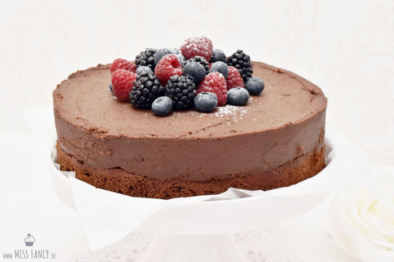 Rezept Schoko Rumtrüffel Torte