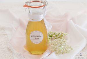 Rezept-Holunderblütensirup
