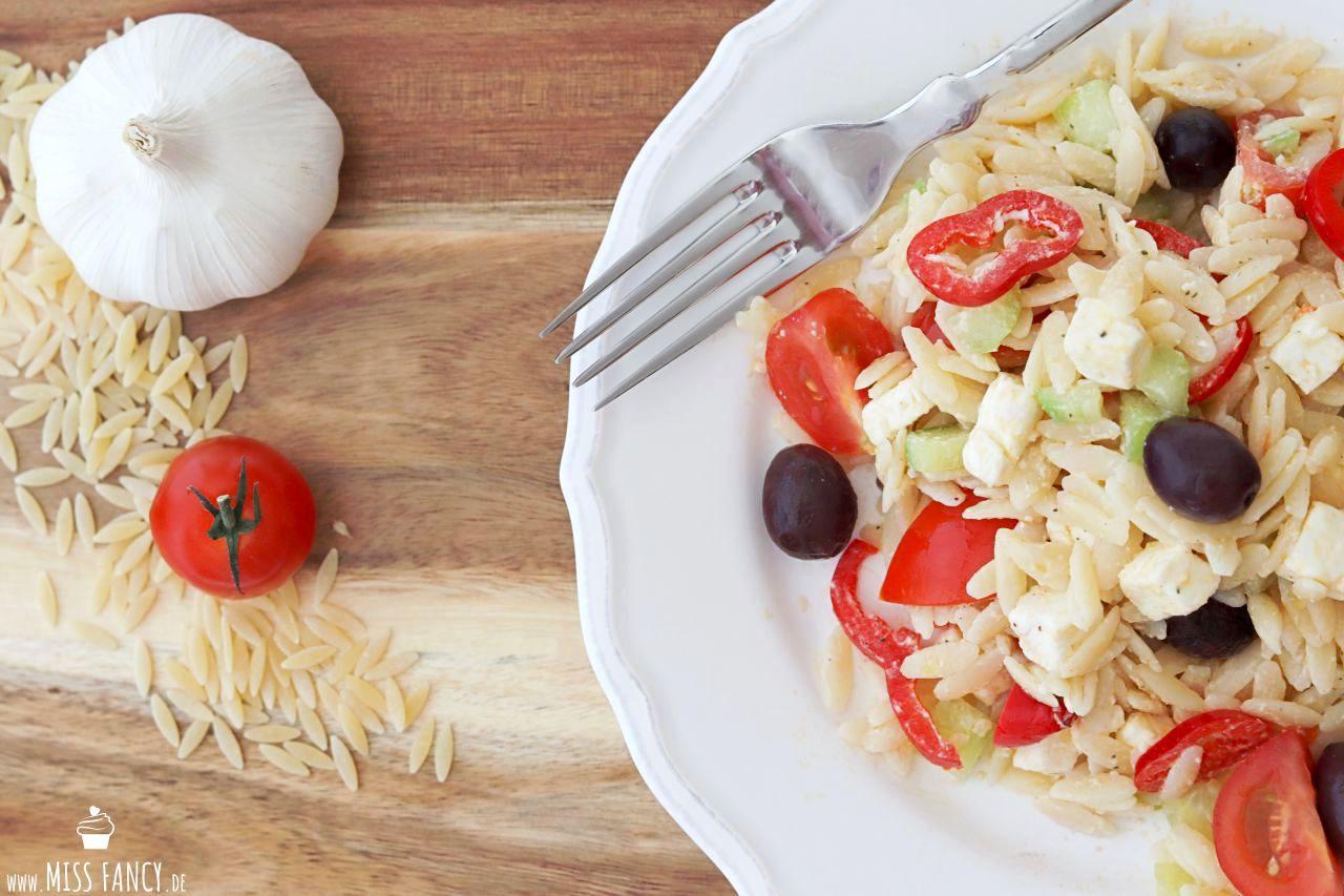 Sommersalat griechischer Art