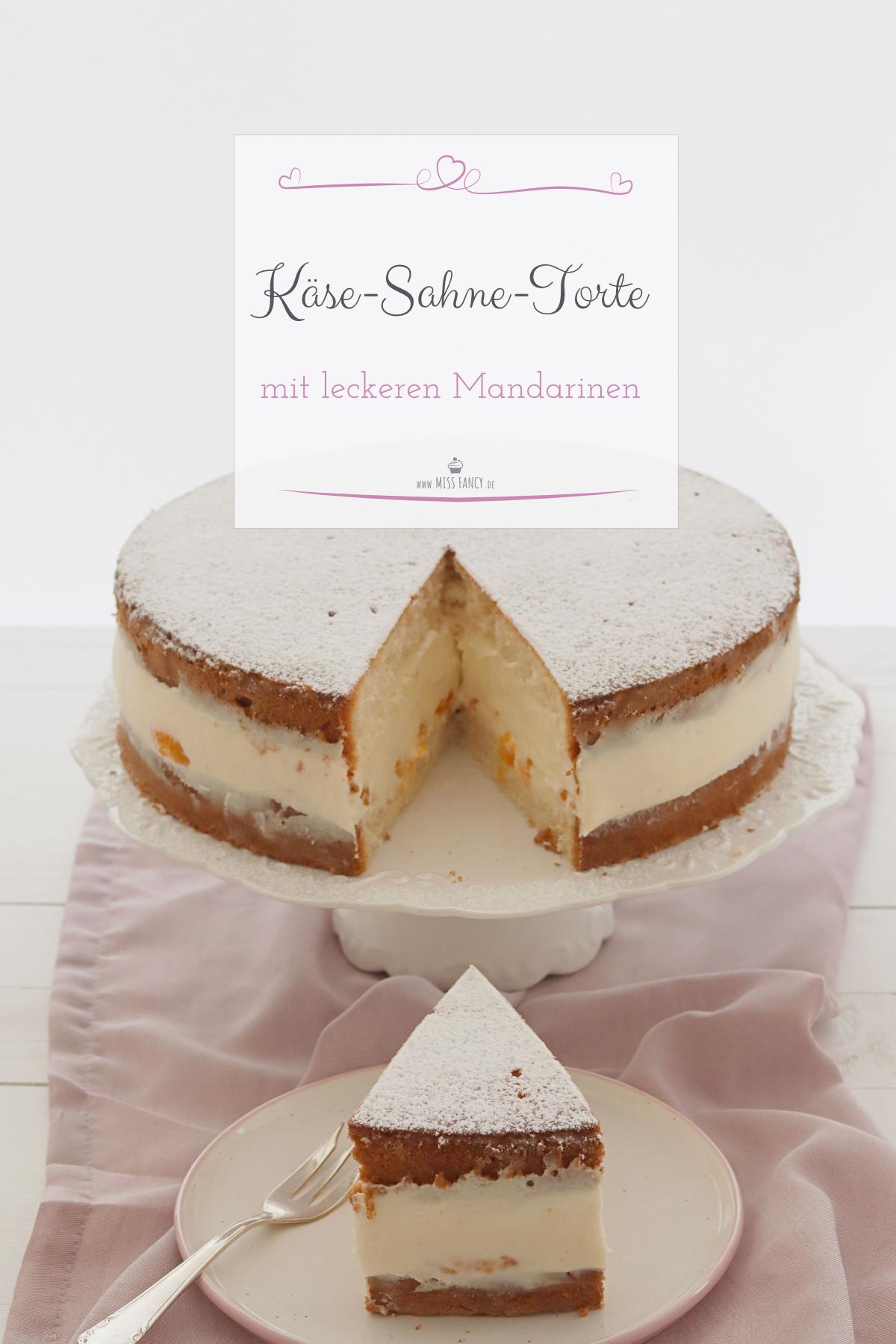 Rezept-Käse-Sahne-Torte