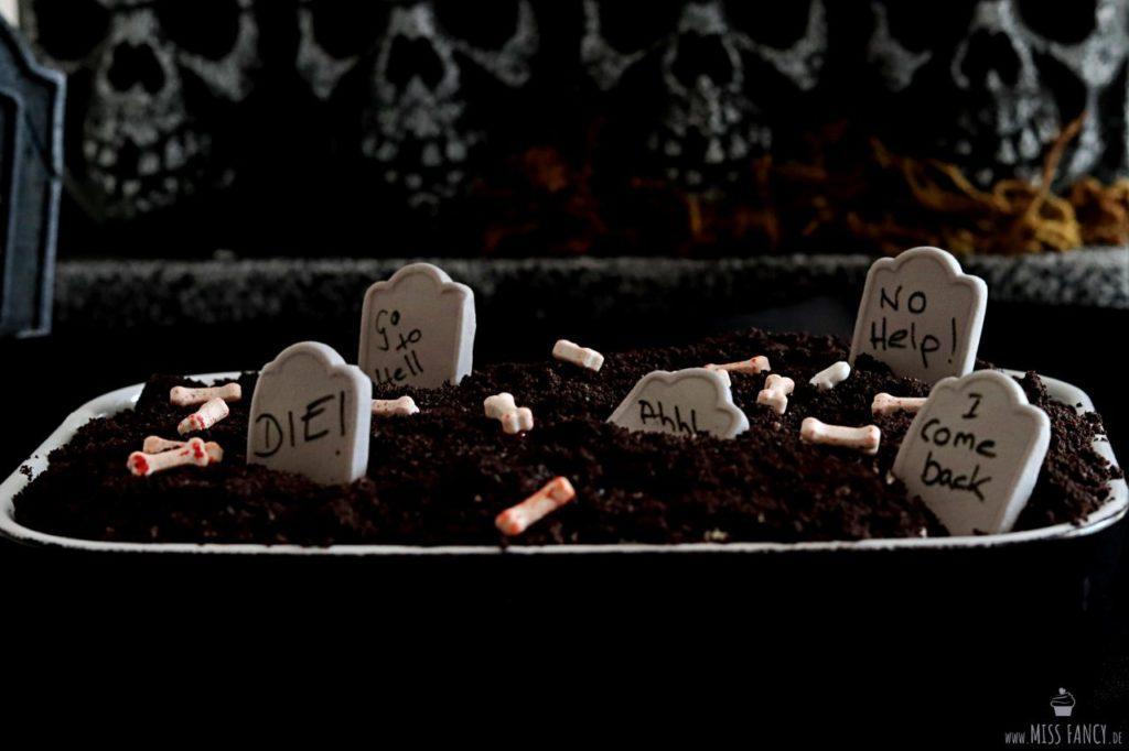 Halloween Dessert für die Halloween Party