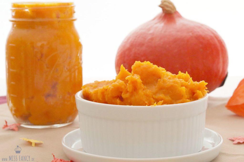Kürbispüree / Kürbismus inklusive Rezept für Pumpkin Pie Spice