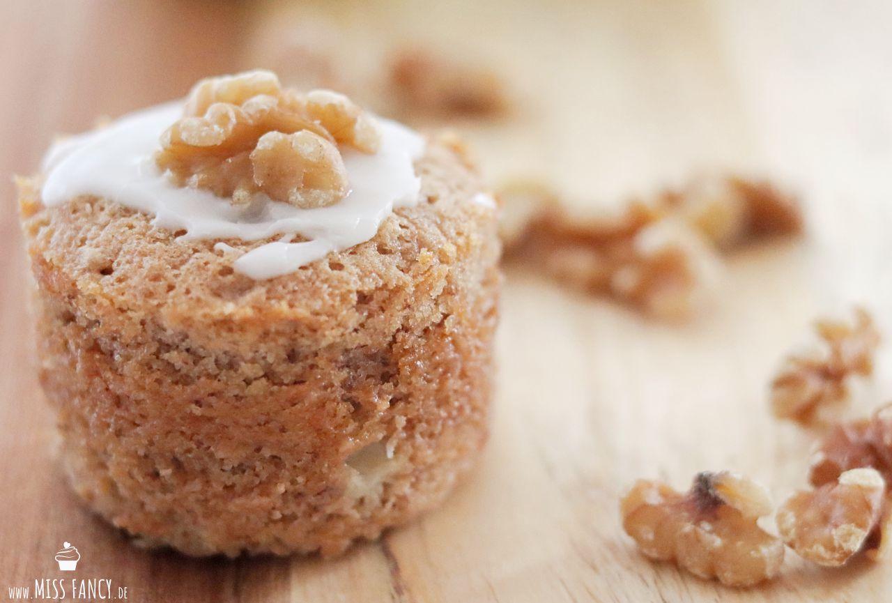 Herbstliche Apfel-Walnuss-Muffins