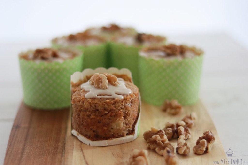 Leckere Apfel-Walnuss-Muffins