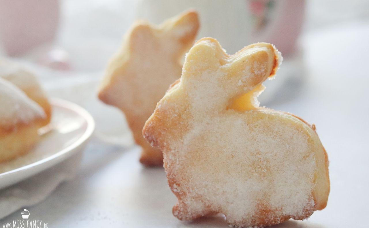 Süße Gebäck-Hasen zu Ostern