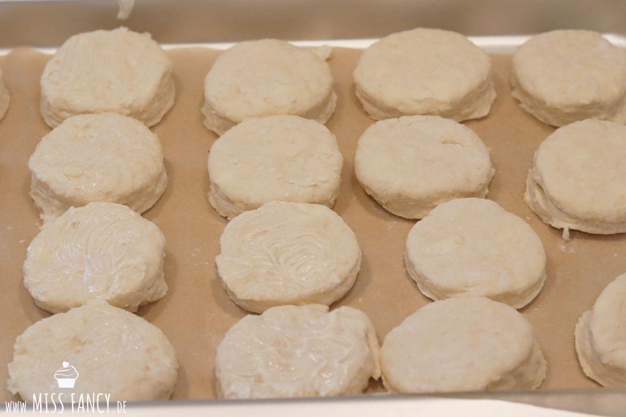 Leckere Buttermilch Biskuits, ein Rezept aus den Usa