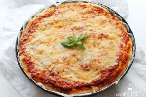 Leckerer Pizzateig wie aus den USA