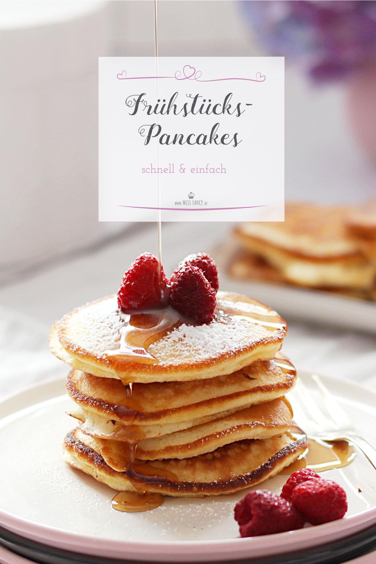 Leckere Frühstücks Pfannkuchen