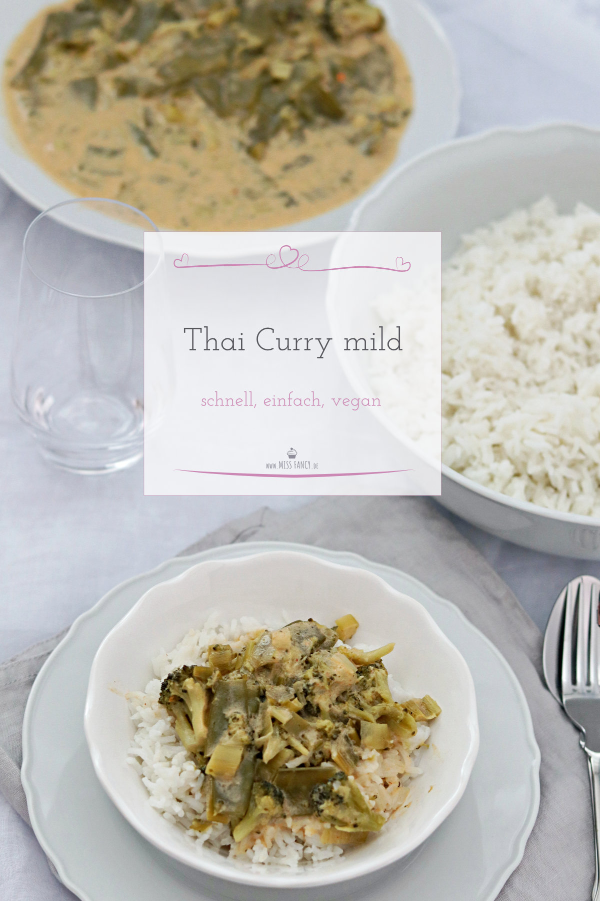 Thai Curry Rezept vegan