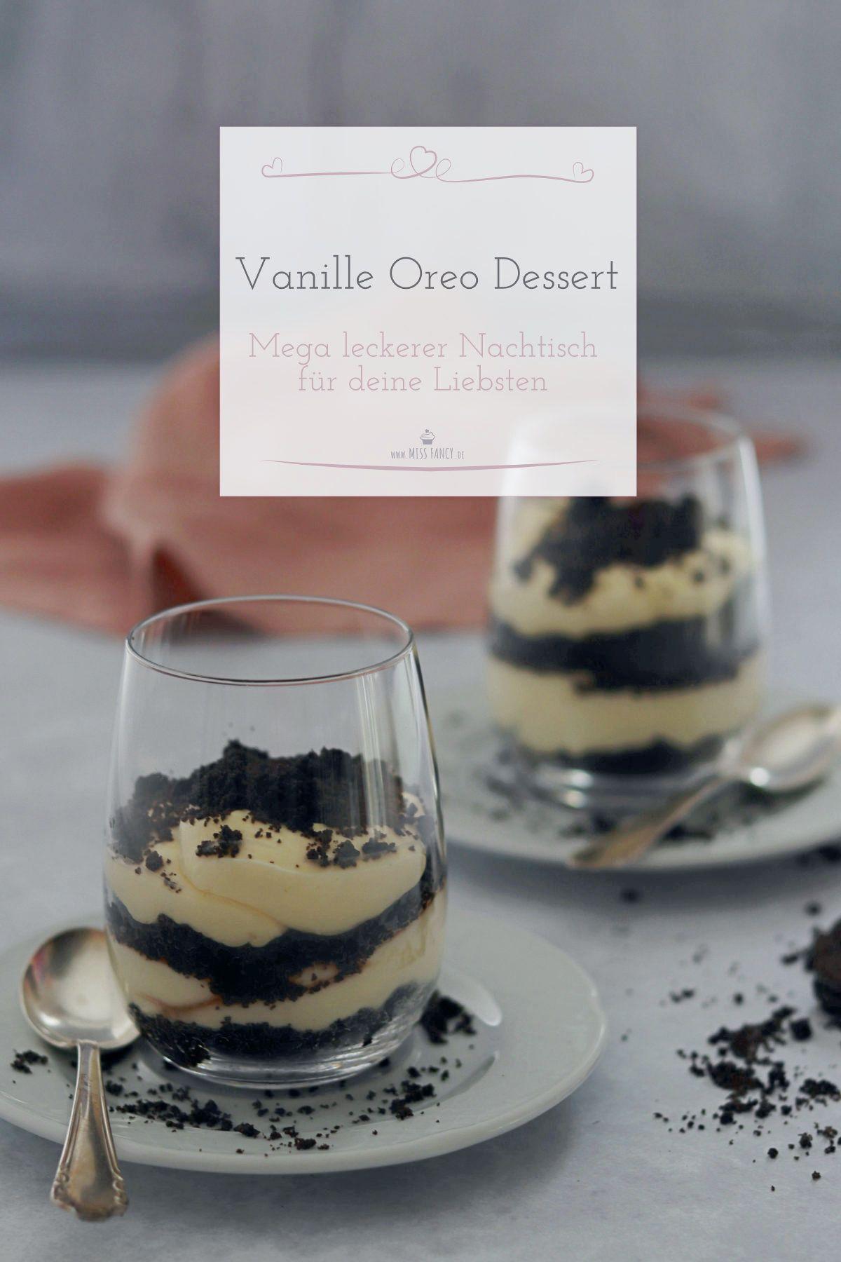 Vanille Dessert im Glas